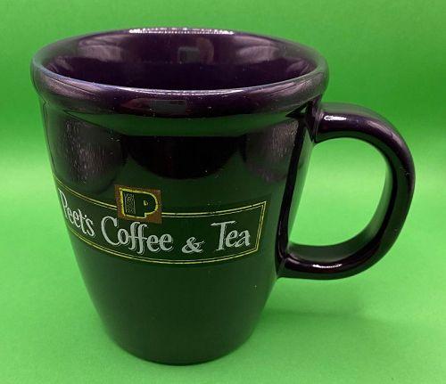 Vintage Peets Coffee & Tea Plum Bodum Ceramic Mug
