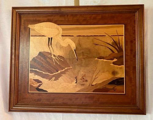 """Hudson River Inlay """"Shore Looks Nice"""" Nelson"""