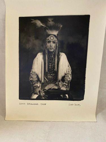 Jeff Dunas American Indian Series Original Photograph