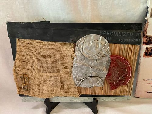 Billy Zane Artist Hollywood Actor Mixed Media Collage Sculpture Art