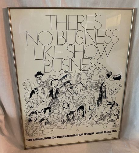 Al Hirschfeld (1903-2003) There is No Business like Show Business