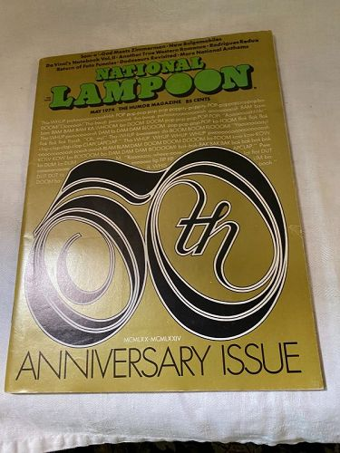 National Lampoon Magazine May 1974  Bob Dylan Political Satire Issue