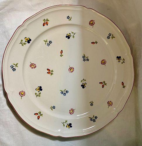 Villeroy & Boch Petite Fleur Round Serving Platter(2 available)