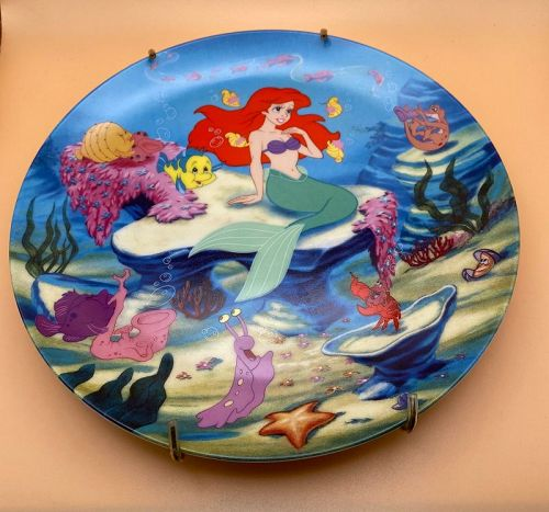 Disney The Little Mermaid A Song From The Sea,Collectors Plate Knowles