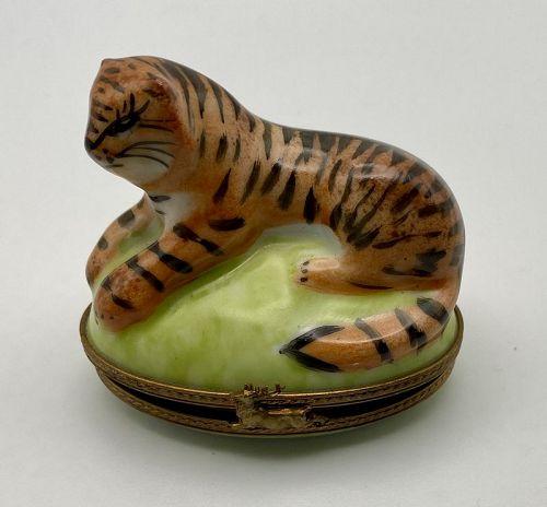 Limoges Tiger Box