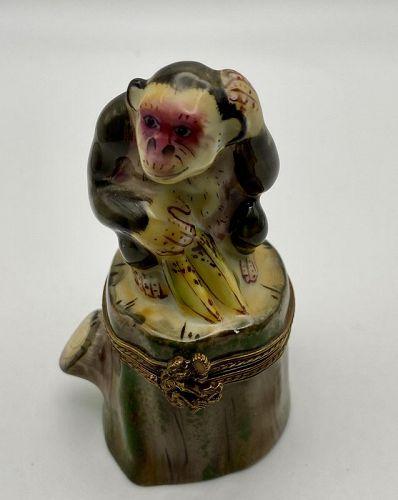 Limoges Monkey Box