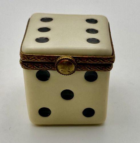 Limoges Dice Box