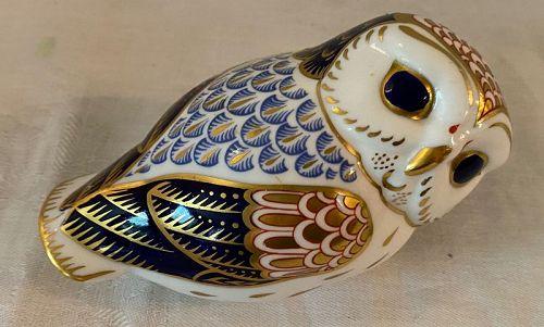 Royal Crown Derby Owl Figurine