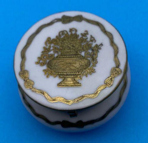 GorgeousHand painted Ardalt Japan Lenwille China Porcelain Box