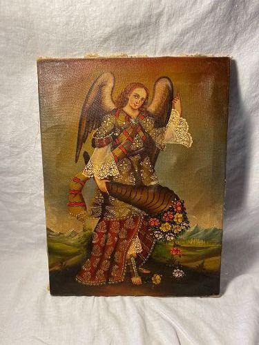 Cusco Angel Painting