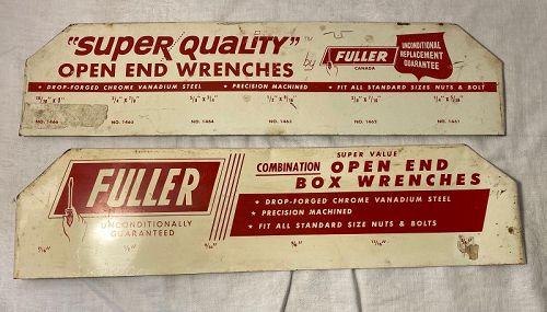 Metal Fuller Brush Advertisement