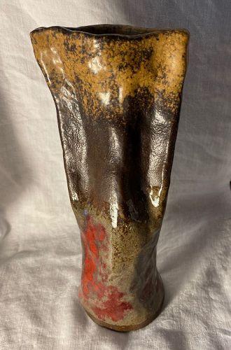 Signed Studio Pottery Stoneware Vase