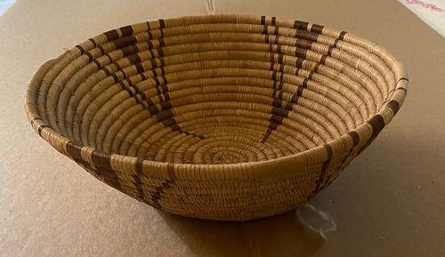 Contemporary  Hand Made Native Basket Ethnographica
