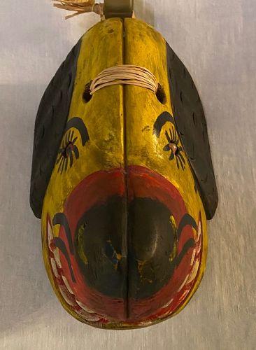 Ethnographica Cultural Indigenous  Folk Art  Dog Mask