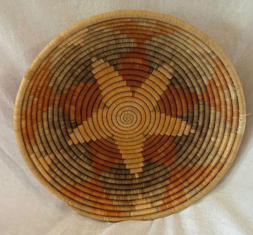 Ethnografica Cultural Indigenous Hand Made Native Basket
