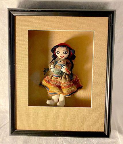 Ethnografica, Quilts, Linens, Indigenous Peru Doll