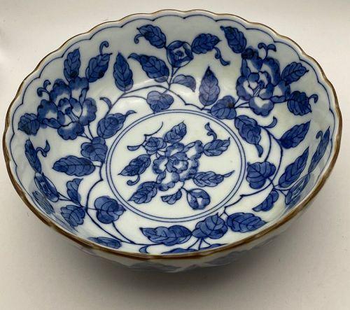 Blue & White Japanese Bowl