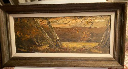 American Pastoral Oil Painting Viola M. Allen 1906 - 1997