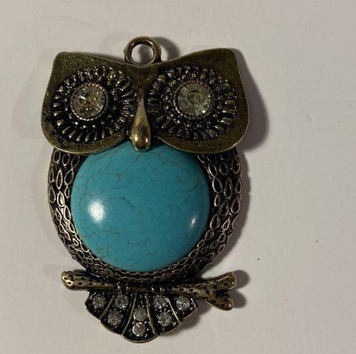 1960's Mod Carnaby Street Owl Pendant