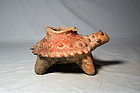 Colima Horny Toad effigy 300 bc. to 300 ad. No Restoration