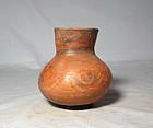 Colima vase/olla 300 bc. to 300 ad. No Restoration