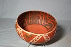 Anasazi / St Johns Poly-chrome bowl ca. 1300