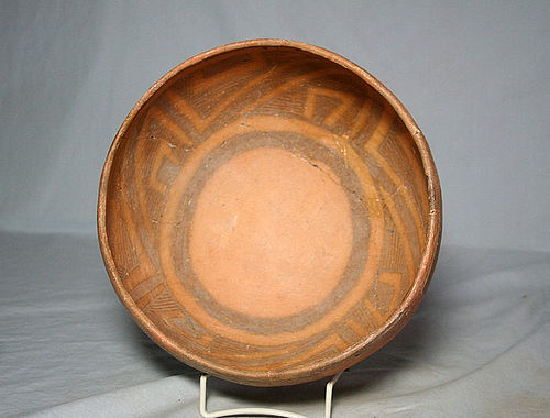 Anasazi / Cedar Creek Poly-chrome bowl ca. 1300 ad.