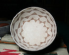 Mesa Verde Large black on white with butterflies design bowl 1000 ad.