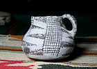 "Anasazi / Kiatutalana black on white mug ca. 800 ad. ""Extremely Rare"""