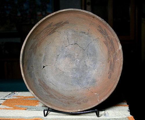 Anasazi / Mogollon / Mimbres geo bowl ca. 1100 ad