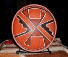 Anasazi / 4-Mile polychrome bowl ca 1325 to 1400 ad.