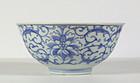 Pair of Chinese Porcelain Jiaqing Lotus Bowls 1796~1820