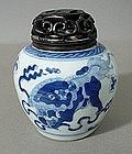 KANGXI Ginger Jar, C 1700