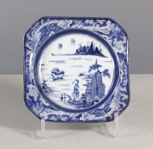 An Arita Blue & White Square Dish, 18th ~ 19th century, #1