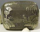 Zhang Mingqi ( Chang Ming-ch�i ) A fine copper alloy handwarmer, seal.
