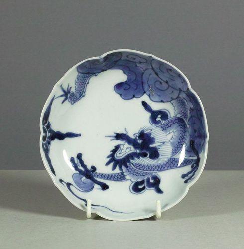 Arita Dragon Dish, 18th century. #1