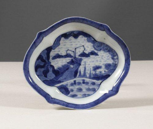 Arita Export Porcelain Van Frytom Spoon Tray, 1680~1700