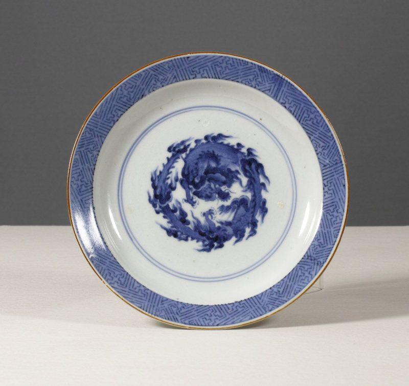 Splendid Arita Dragon Dish, 1690~1710