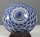 Arita Porcelain Cover, 17th Century.