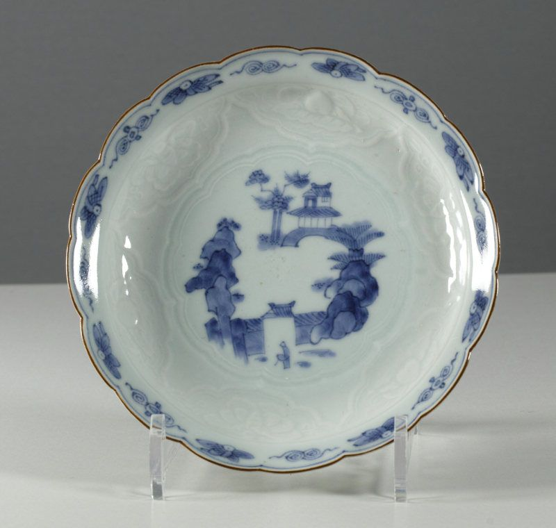 A Japanese Arita Moulded Dish, 18th Century. # 5