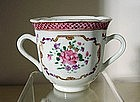 Chinese Export F / Rose Loving Cup, 18C