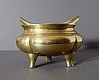 Chinese Bronze Censer, Qianlong, 18C.