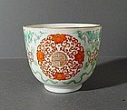 Famille Rose Bowl JIAQING Mark and Period.