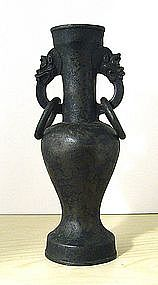 Chinese Bronze Altar Vase, 15th � 16th Century.