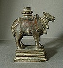 Bronze Nandi, India, 17th century.