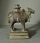 Bronze Nandi, India, 17th century.