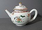 Chinese Famille Verte Teapot, KANGXI, C1700