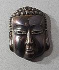 Japanese �Buddha� match safe, vesta, Meiji, 19thC.