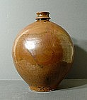 Jin Dynasty Russet Glaze Wine Bottle