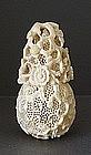 Chinese Ivory Perfumer, 19th C.
